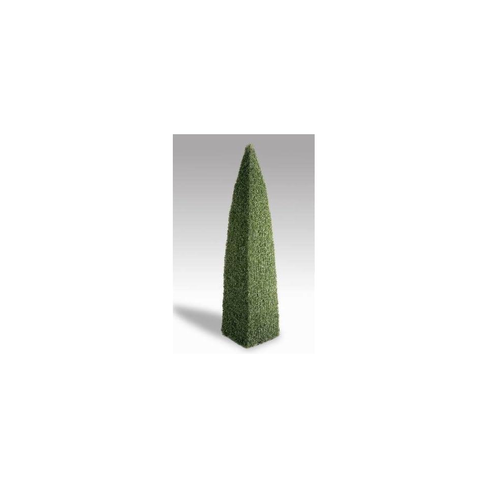 National Tree Company LBXT 702 80 8 Foot Boxwood Pyramid Topiary