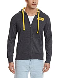 Star Wars Men's Poly Cotton Sweatshirt (8903346484348_SW1DHM225_S_Charcoal)
