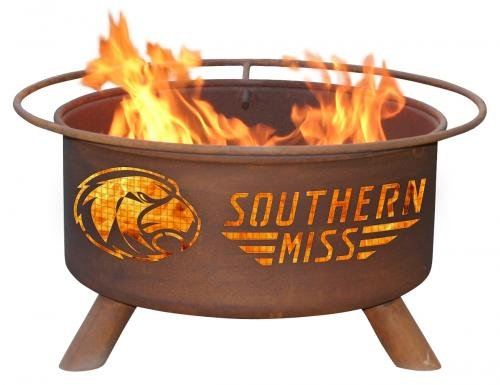 Patina Products 31 Inch Southern Mississippi University Fire Pit
