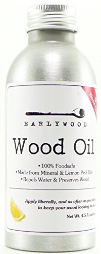 Earlywood Block and Spoon Oil - 4.5 ounces