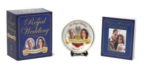The Royal Wedding Commemorative Plate and Book