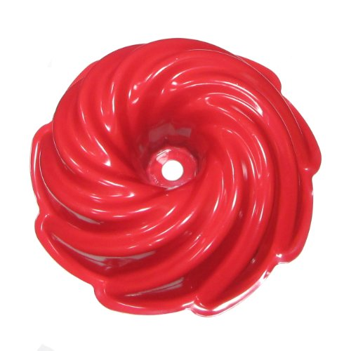 Nordicware 10 Cup Heritage Formed Bundt Pan 50222, Red (Nordic Ware Bundt Pan Heritage compare prices)
