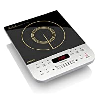 Philips Daily Collection HD4928/00 2100-Watt Induction Cooktop (Black)