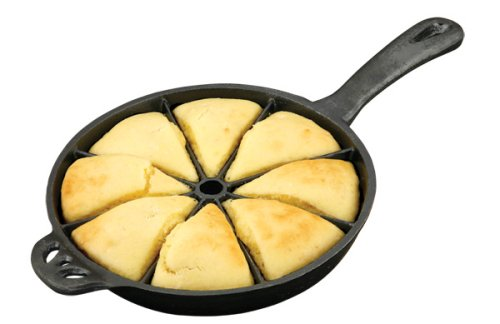 Camp Chef True Seasoned Cornbread Cast Iron Wedge Pan (Iron Cooking Pan compare prices)