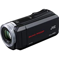 JVC Everio GZ-R10 Quad Proof Full HD Digital Video Camera Camcorder (Black) by JVC