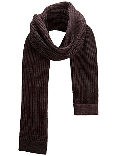 SELECTED 16032216 GROUND BORDEAUX SCIARPE, FOULARD E COLLI Uomo BORDEAUX UNI