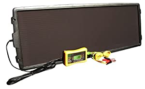 Save A Battery 6783 12-Watt 12-Volt Solar Battery Charger and Maintainer