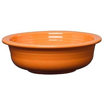 Homer Laughlin 471-325P Fiesta Tangerine 39-1/4 Oz Serving Bowl
