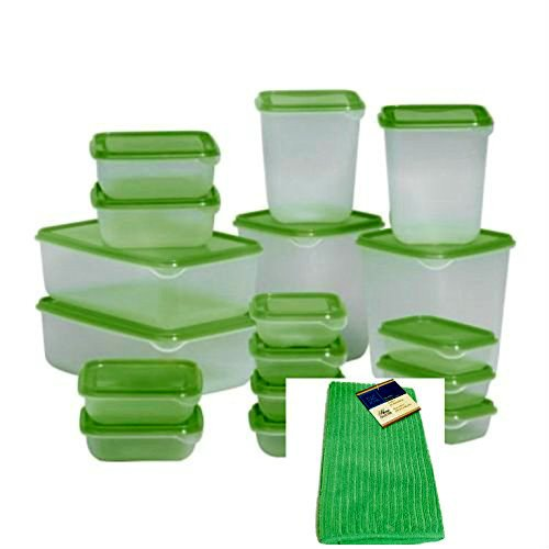 Food And Kitchen Storage Containers Bundle 35 Items Include 17 Different  Ikea Containers With Lids And