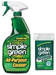 Simple Green32 oz. Concentrated All-Purpose Cleaner with Scrubbing Pad