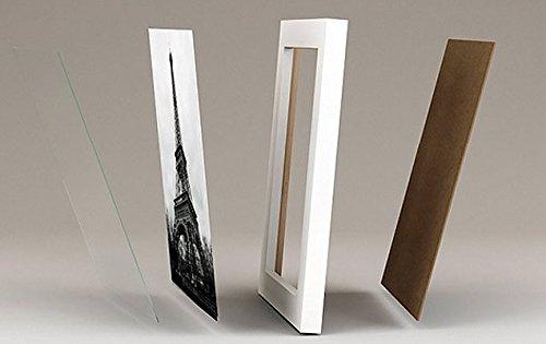 Pacco da 8 solide cornici in legno per foto 10x15 for Cornici per foto 10x15