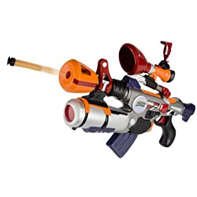 Monsters vs Aliens Area 52 Foam Dart Shooter