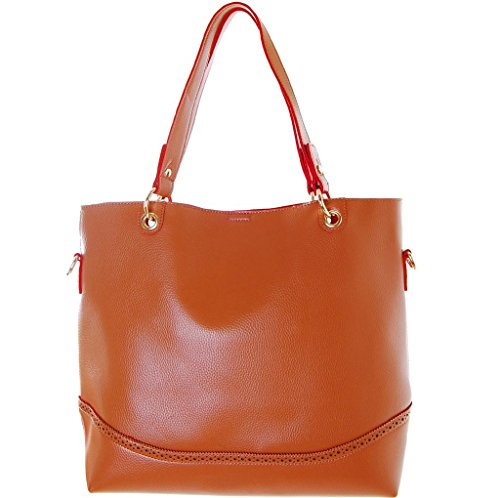 Humble Chic Oversized Leather Tote - Vegan Leather Shopper