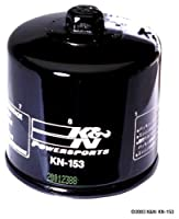 K&N KN-153 Powersports High Performance Oil Filter from K&N