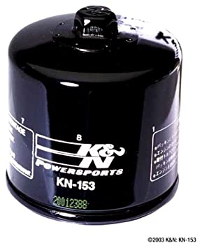 K/&N KN-207 Motorcycle//Powersports High Performance Oil Filter