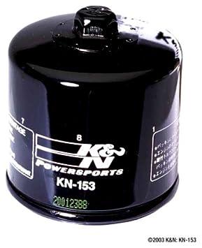 3 Pack Oil Filters Pro Series Powersports Cartridge K/&N KN-113