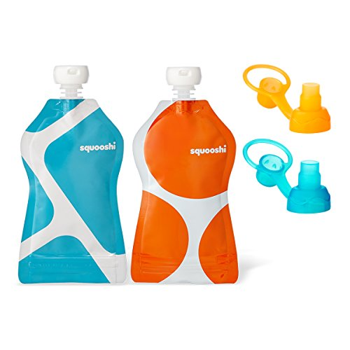 Squooshi G.O. Reusable Food Pouch & Choomee Sip'n Combo Pack - 1