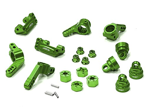 Integy RC Hobby T8148GREEN Billet Machined Stage 1 Conversion for Traxxas 1/10 Rustler, Stampede, Slash 2WD (Dirt Quad Controller compare prices)