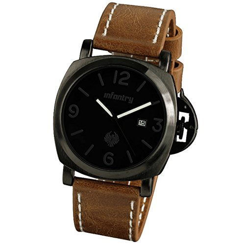 infantryr-mens-analogue-quartz-wrist-watch-date-display-black-dial-military-brown-leather-strap