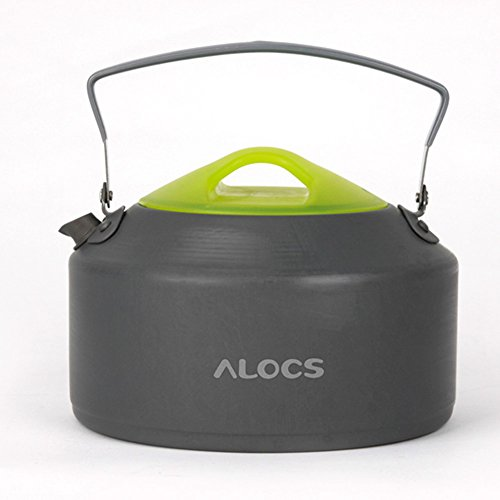 Andoer Alocs Cw-K09 Portable Aluminum Oxide Outdoor Camping Pot Teapot Kettle 0.9L