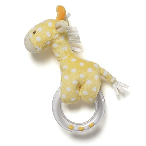 Gund Baby Lolly Baby Ring Rattle, Giraffe