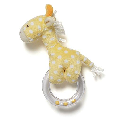 Gund Baby Lolly Baby Ring Rattle, Giraffe