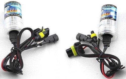 Zone Tech Set Of 2 Hid H13-1 8000K Xenon Replacement Headlight Light Bulbs