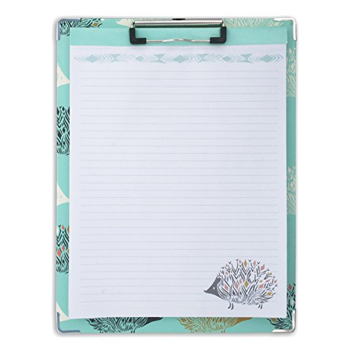 capri-designs-sarah-watts-clipboard-and-paper-set-hedgehog