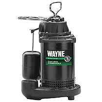 Wayne  Plastic  Drill Powered Pump  150 gph 115 volts