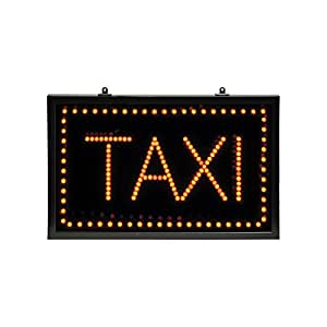 Altai Large Static Red Led Taxi Sign