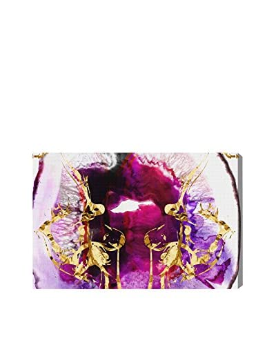 Oliver Gal Smoking Agate Canvas Art