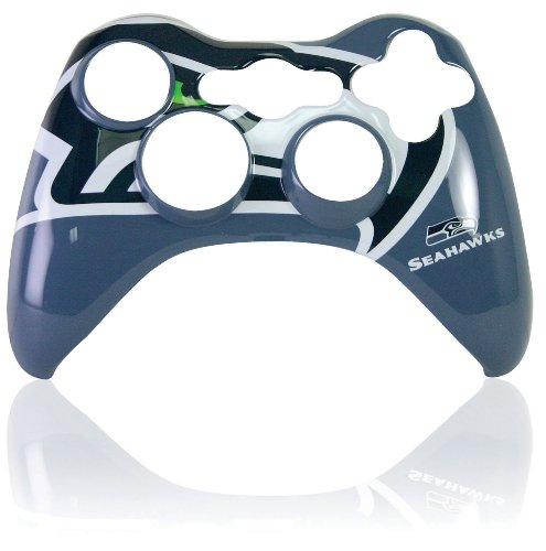 Xbox 360 Official NFL Seattle Seahawks Controller Faceplate