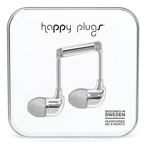 Happy Plugs 7736 In-Ear Headphones Silver (Happy Plugs Deluxe compare prices)