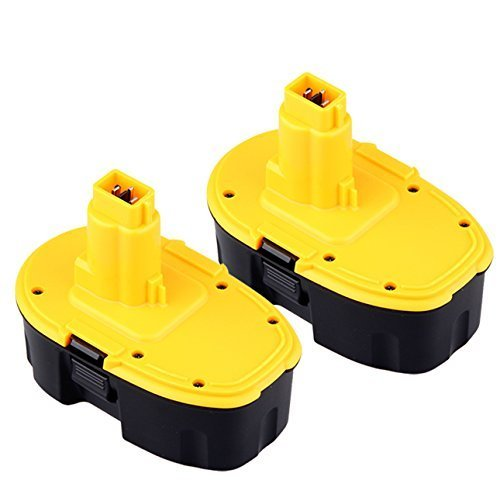 URPOWER 2 Pack 18V 2000mAh Replacement Battery for DEWALT DC9096 388683-12 651034-01 DE9039 DE9095 DE9096 DE9098 DW9096 DW9095 DW9098 (Dewalt 18v Battery compare prices)