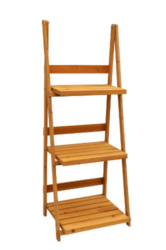 Leisure Season Ps6114 3-Tier A-Frame Plant Stand front-956069