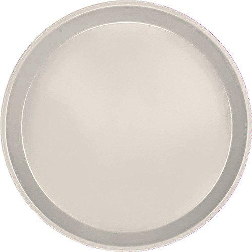 Serving Camtray, Round, 9'' Diameter, Fiberglass, Aluminum Reinforced Rim, Cottage White, Nsf (12 Pieces/Unit)