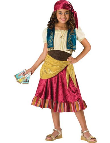 Kids-Costume Gypsy Child Sz 8 Halloween Costume - Child 8