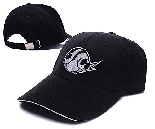 [HAISHEN MegaMan Head Logo Adjustable Baseball Caps Unisex Snapback Embroidery Hats] (Megaman Hat)