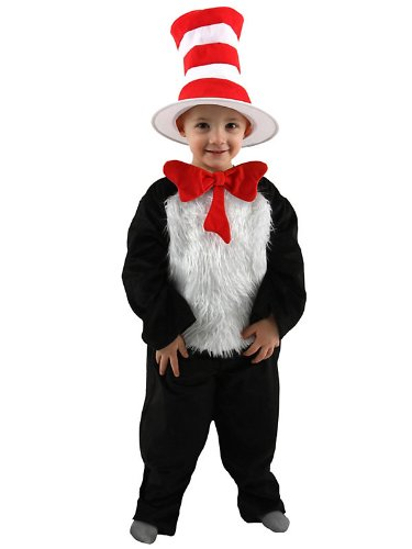 Toddler Deluxe Dr Seuss Cat In the Hat Costume