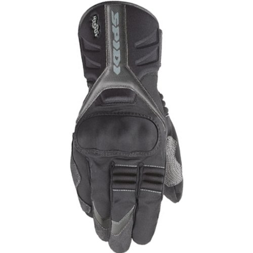 Spidi T-Winter Men's Textile On-Road Racing Motorcycle Gloves - Black / 2X-Large