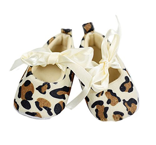 Xidaje Baby Girl Toddler Leopard Soft Sole Walking Shoes Sneaker Newborn To 18 Months