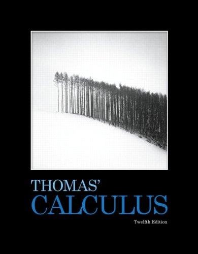 Thomas' Calculus (12th Edition)