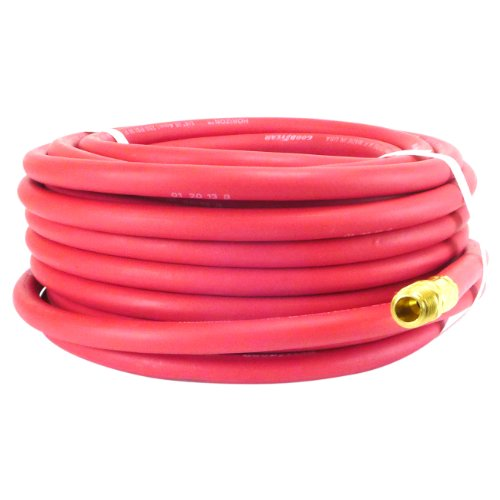 Continenta (Formerly Goodyear) 50-Feet Rubber Air Hose, 250 PSI, 1/4-inch Fitting (1 4 Goodyear Air Hose compare prices)