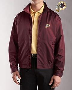 Washington Redskins Jacket Mens Weathertec Whidbey Jacket Chutney by Cutter & Buck
