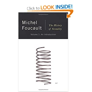 The History of Sexuality, Vol. 1: An Introduction by Michel Foucault and Robert Hurley