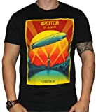 Led Zeppelin Celebration Day T-Shirt Black - Large - 43