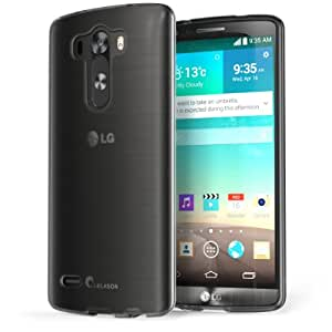 i-Blason LG G3 Case - SoftGel Flexible TPU Case (Frost Black)