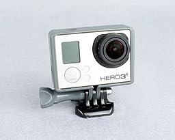 CLOVER Border Standard Frame Mount for GoPro Hero 3+, Hero 3 Plus, Hero 4 Camera - Gray