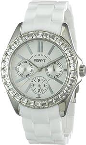 Esprit Dolce Vita White Day & Date Damen Uhr Weiß ES105172006
