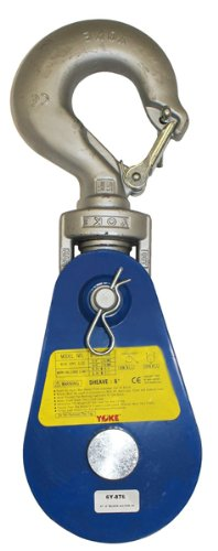 BA Products 6Y-12T6 Snatch Block with Latching Hook, 12 ton Load Capacity, 6